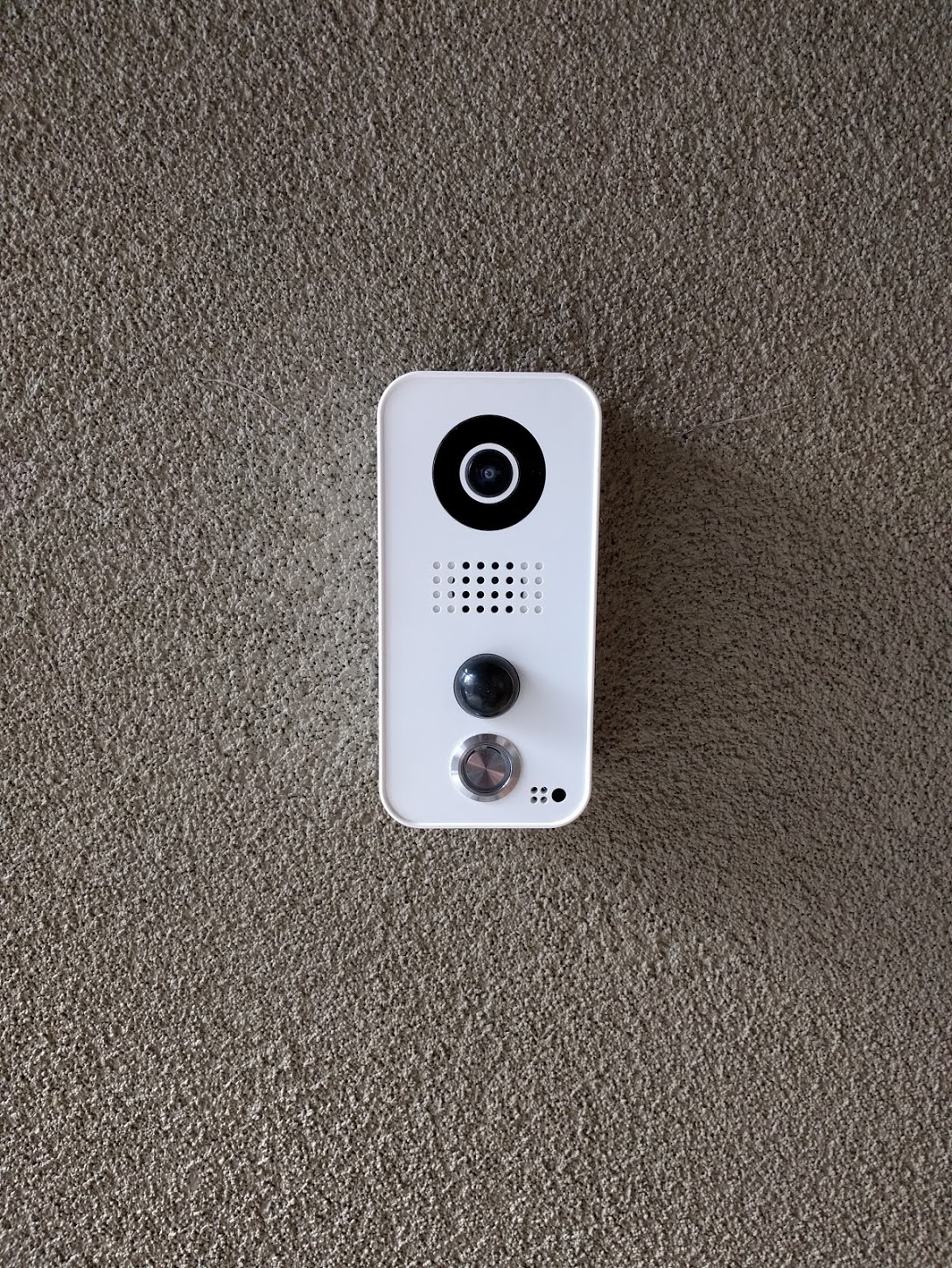 Install Report Doorbird Internet Connected Video Doorbell Skybell Wiring Diagram The Big And Very Positive Discovery For Me Is That Doorbirds Main Poe Connection Only Used 4 Of 8 Cat 5 Wires This Not Documented In Any